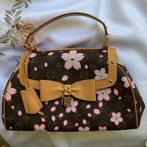 Louis Vuitton Murakami Cherry Blossom Satchel RARE